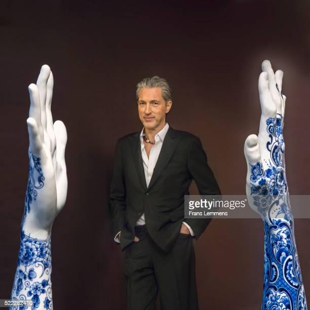 Tattoo on Porcelain by Dutch Designer Marcel Wanders