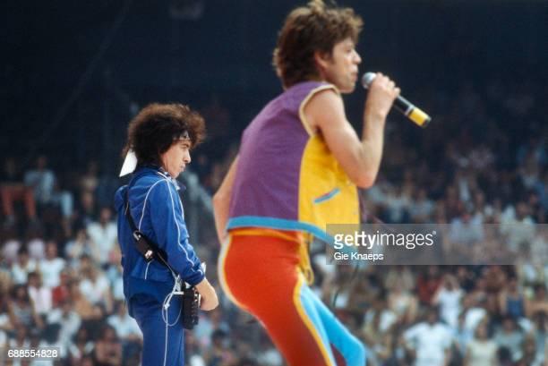 Tattoo You Tour Mick Jagger Bill Wyman The Rolling Stones Feyenoord Stadion Rotterdam Holland