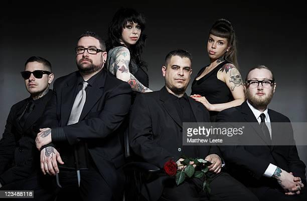 tattoo5 - 数人 ストックフォトと画像