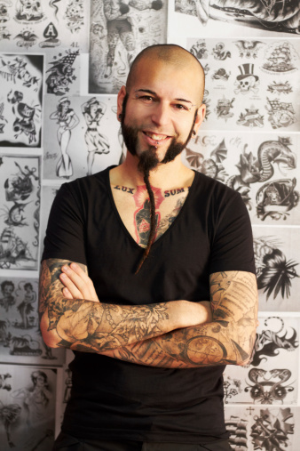Tattoos are my passion - gettyimageskorea