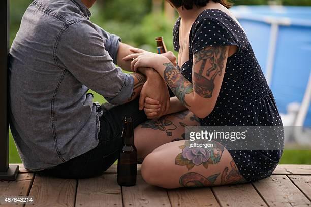 Les tatouages sont les sentiments look