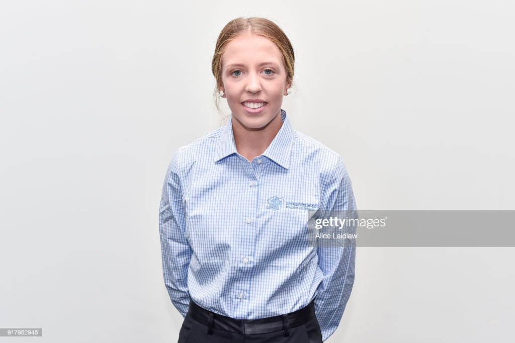 Tatum Bull at the Apprentice Jockeys Induction at Racing Victoria on February 14, 2018 in Flemington, Australia.