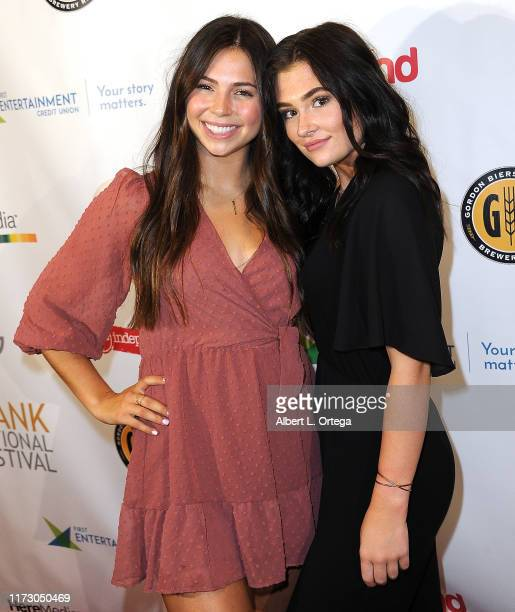 Tatum Chiniquy and Tylah Jordan attend the Premiere Of Relish At The Burbank International Film Festival held at AMC Burbank 16 on September 6 2019...