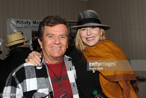 Tatum O'Neal and Butch Patrick at Day 1 of the Chiller Theatre Expo at Sheraton Parsippany Hotel on October 24 2014 in Parsippany New Jersey