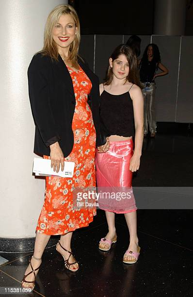 Tatum O'Neal and daughter Emily during Charlie's Angels Full Throttle New York City Premiere at Loews Lincoln Square in New York City New York United...