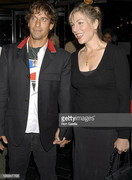 Tatum O'Neal and Guest during Coty's 100th Anniversary Celebration September 12 2004 at American Museum of Natural History's Rose Center in New York...