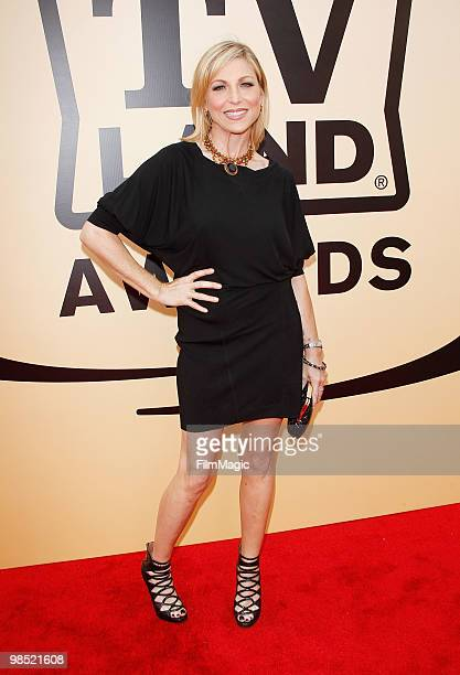 Tatum O'Neal arrives to the 8th Annual TV Land Awards held at Sony Pictures Studios on April 17 2010 in Culver City California
