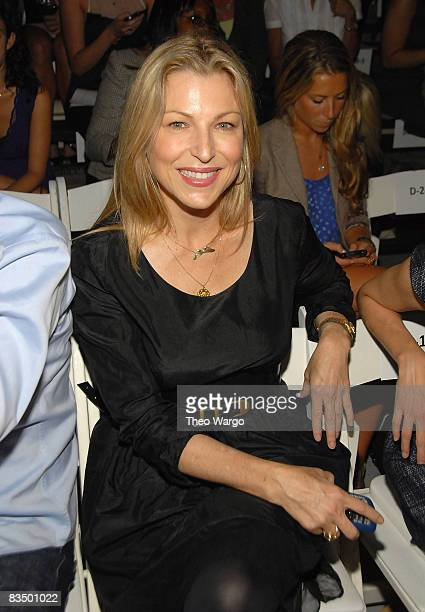 Tatum O'Neal attends Cynthia Rowley Spring 2009 at 548 West 22nd Street on September 11 2008 in New York City