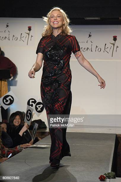 Tatum O'Neal attends DRESSED TO KILT 2006 Fashion Show sponsored by Johnnie Walker at Synod House on April 3 2006 in New York City