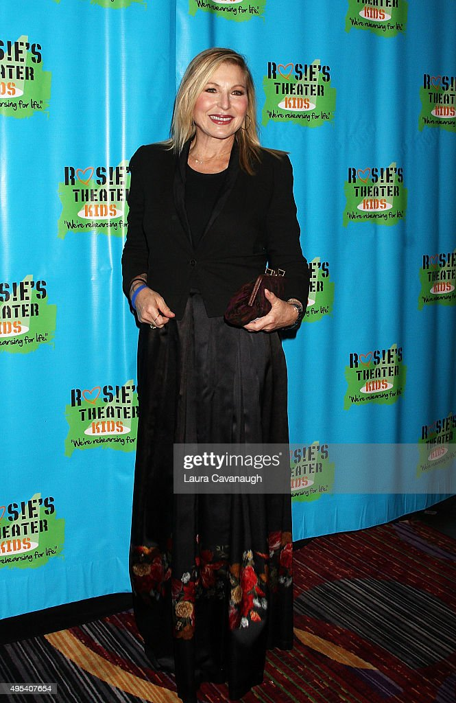 Tatum O'Neal attends Rosie's Theater Kids' 12th Annual Gala Celebration at The New York Marriott Marquis on November 2, 2015 in New York City.