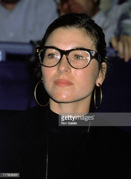 Tatum O'Neal during 1990 US Open Celebrity Sightings September 5 1990 at Flushing Meadow in Queens New York United States