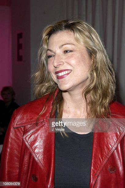 Tatum O'Neal during MercedesBenz Shows LA Frankie B Front Row and Backstage at The Standard Downtown LA in Los Angeles California United States
