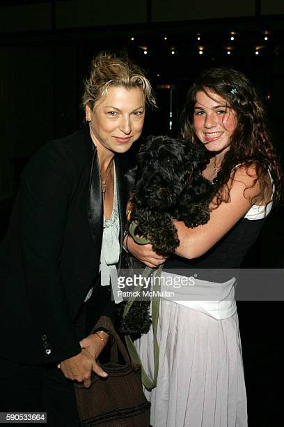 Tatum O'Neal Lena and Emily McEnroe attend A Doggie Luncheon Celebrating the Fourth Birthday of Paper's Romeo Hastreiter at Trinity on August 18 2005...