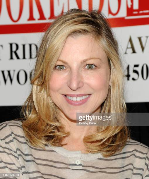 """Tatum O'Neal promotes """"Found: A Daughter's Journey Home"""" at Bookends Bookstore on June 14, 2011 in Ridgewood, New Jersey."""