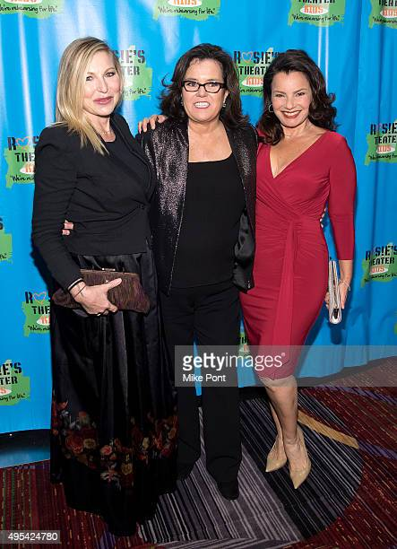 Tatum O'Neal Rosie O'Donnell and Fran Drescher attend Rosie's Theater Kids' 12th Annual Gala Celebration at The New York Marriott Marquis on November...