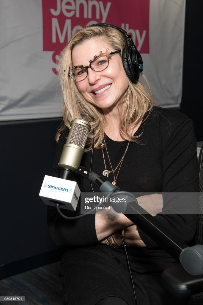 Tatum O'Neal visits SiriusXM Studios on March 28, 2018 in New York City.