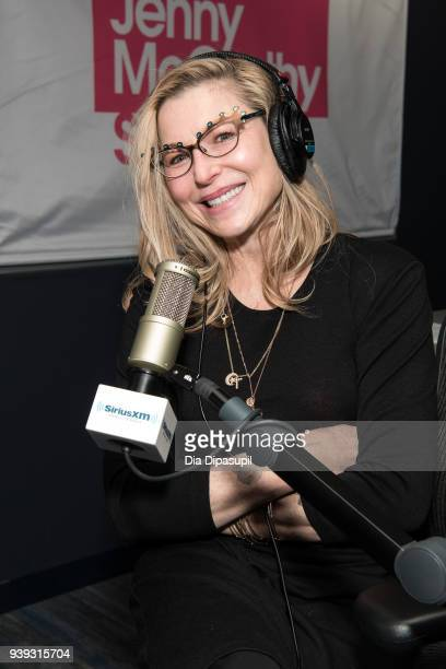 Tatum O'Neal visits SiriusXM Studios on March 28 2018 in New York City