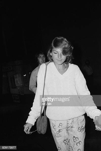 Tatum O'Neal wearing casual clothes circa 1970 New York