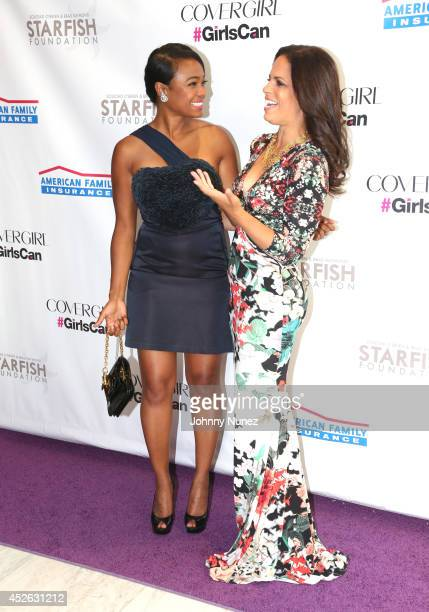 Tatyana Ali and Soledad O'Brien attend Soledad O'Brien Brad Raymond Starfish Foundation 4th Annual New Orleans To New York City Gala at Espace on...