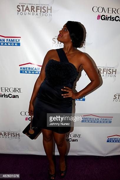 Tatyana Ali attends Soledad O'Brien Brad Raymond Starfish Foundation 4th Annual New Orleans To New York City Gala at Espace on July 24 2014 in New...