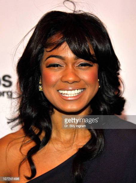 Tatyana Ali attends the 10th Annual Heroes in the Struggle Gala at the Avalon on December 1 2010 in Hollywood California