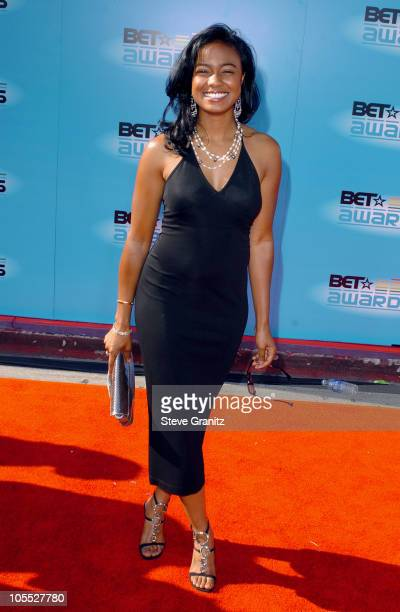Tatyana Ali during 2005 BET Awards Arrivals at Kodak Theatre in Hollywood California United States