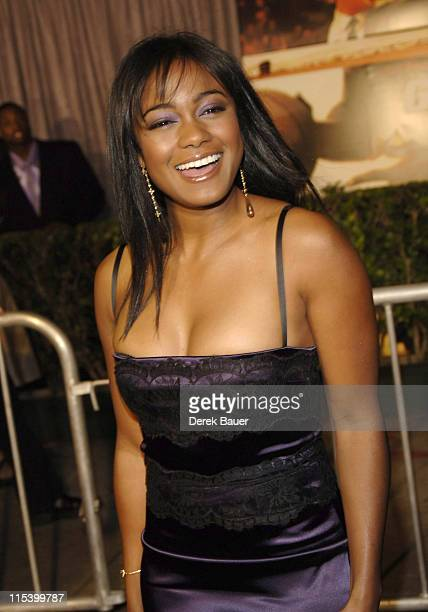 Tatyana Ali during Walt Disney Pictures and Jerry Bruckheimer Films' Premiere Glory Road at Pantages Theatre in Hollywood California United States
