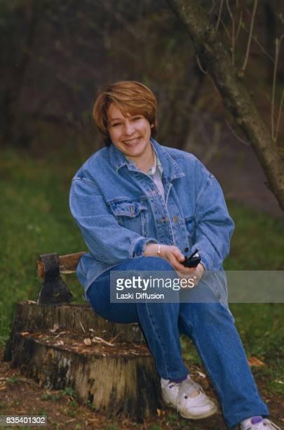 Tatyana Borisovna Dyachenko , Boris Yeltsin's daughter. Russia, 1992.