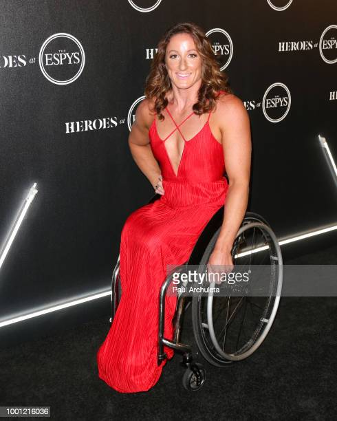 Hannah Storm attends the ESPN's HEROES At THE ESPYS official preparty at City Market Social House on July 17 2018 in Los Angeles California