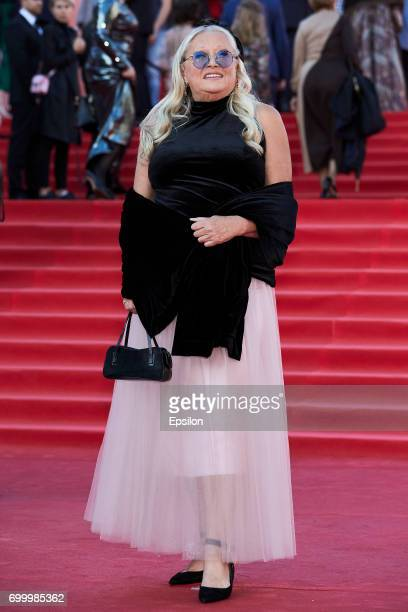 Tatyana Mikhalkova attends opening of the 39th Moscow International Film Festival outside the Karo 11 Oktyabr Cinema on June 22 2017 in Moscow Russia