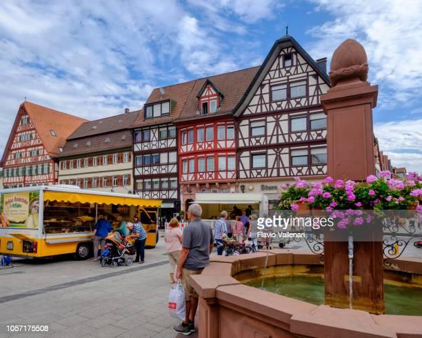 Tauberbischofsheim, Marktplatz (Baden-Württemberg, Germany)