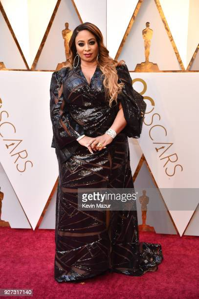Taura Stinson attends the 90th Annual Academy Awards at Hollywood Highland Center on March 4 2018 in Hollywood California