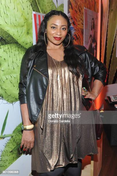 Taura Stinson attends W Magazine's Celebration of its 'Best Performances' Portfolio and the Golden Globes with Audi Dior and Dom Perignon at Chateau...