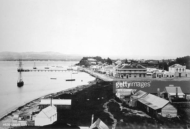 Tauranga Bay of Plenty North Island New Zealand 1875