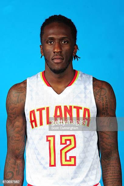 Taurean Prince of the Atlanta Hawks of the Atlanta Hawks poses for a portrait during 20162017 Atlanta Hawks Media Day at Phillips Arena on September...