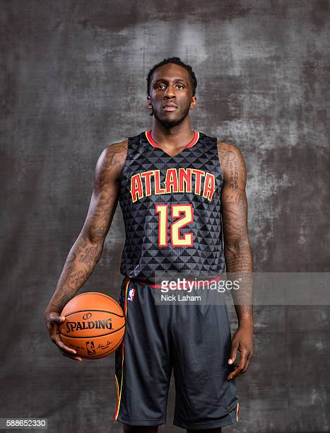 Taurean Prince of the Atlanta Hawks poses for a portrait during the 2016 NBA Rookie Photoshoot at Madison Square Garden Training Center on August 7...
