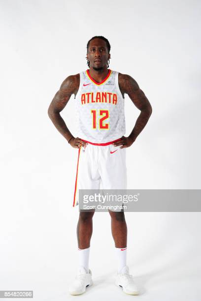 Taurean Prince of the Atlanta Hawks poses for a portrait during the 201718 NBA Media Day on September 25 2017 at Philips Arena in Atlanta Georgia...