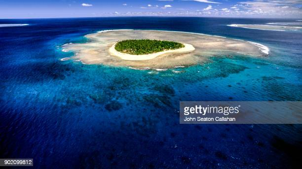 tavarua island - western division fiji stock photos and pictures