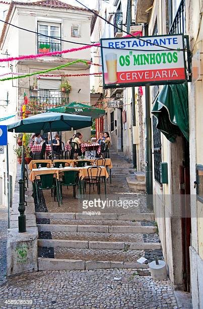 Tavern in Alfama district, Lisbon