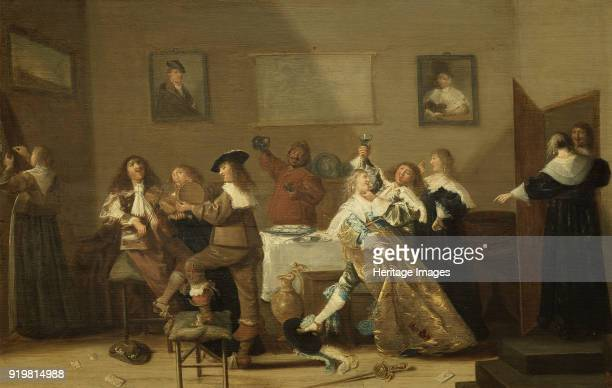 Tavern Scene 1639 Found in the collection of Nationalmuseum Stockholm