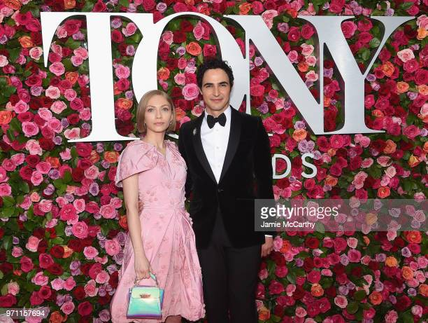 Tavi Gevinson and Zac Posen attend the 72nd Annual Tony Awards at Radio City Music Hall on June 10 2018 in New York City