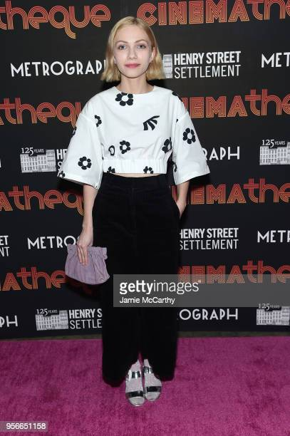 Tavi Gevinson attends the 2nd Annual CINEMAtheque party at Metrograph on May 9 2018 in New York City
