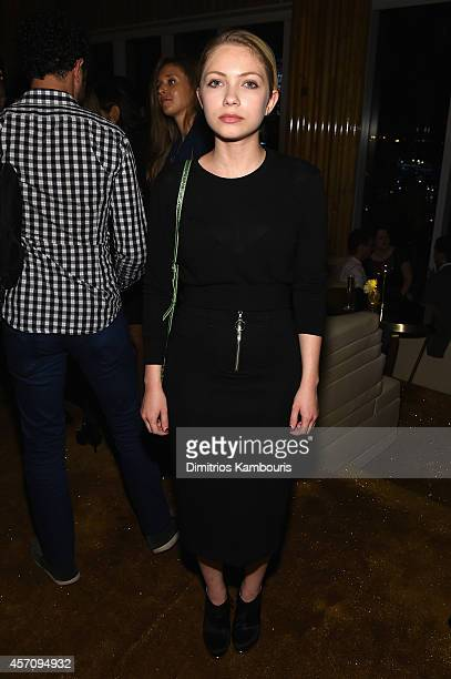 Tavi Gevinson attends The New Yorker Festival 2014 wrap party at the Top of The Standard Hotel on October 11 2014 in New York City