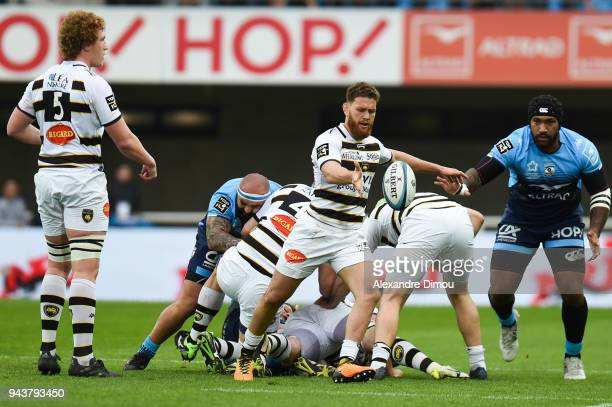 Tawera Kerr Barlow of La Rochelle during the French Top 14 match between Montpellier and La Rochelle at Altrad Stadium on April 8 2018 in Montpellier...