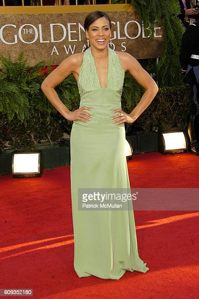 Tawny Cypress attends 64th Annual Golden Globes Awards Arrivals at Beverly Hilton Hotel on January 15 2007 in Beverly Hills CA