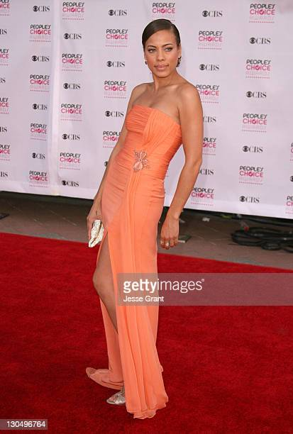 Tawny Cypress during The 33rd Annual People's Choice Awards Arrivals at Shrine Auditorium in Los Angeles California United States