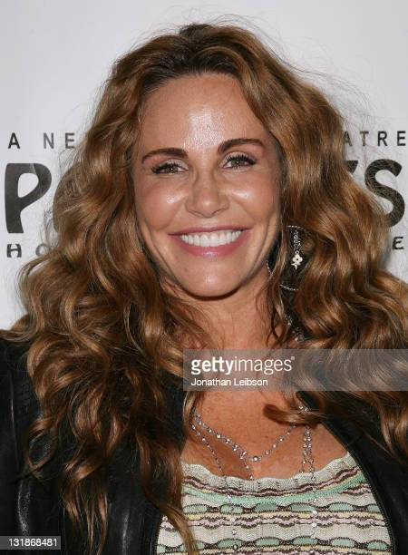 Tawny Kitaen arrives to Rain Los Angeles Opening Night at the Pantages Theatre on April 12 2011 in Hollywood California