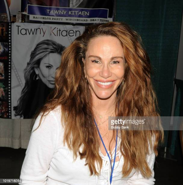 Tawny Kitaen attends the 2018 STL Pop Culture Con at St Charles Convention Center on August 19 2018 in St Charles Missouri