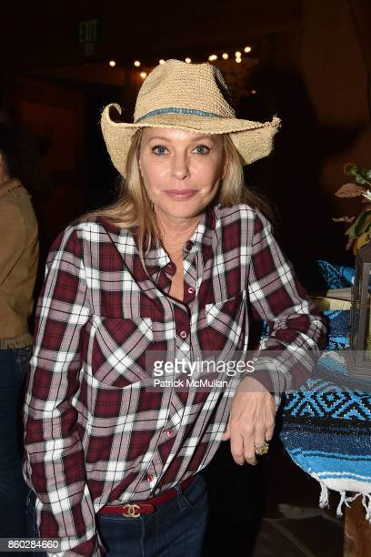Tawny Sanders attends Hearst Castle Preservation Foundation Annual Benefit Weekend 'Hearst Ranch Patron Cowboy Cookout' at Hearst Dairy Barn on...