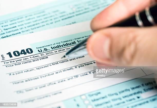 US 2012 Tax Form 1040